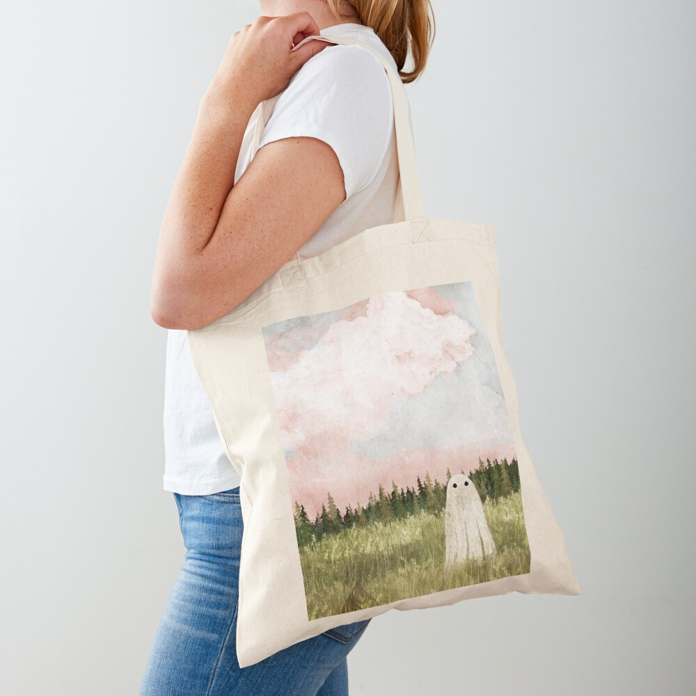 Cotton candy skies Tote Bag