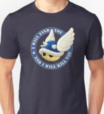 Menacing Blue Shell Unisex T-Shirt