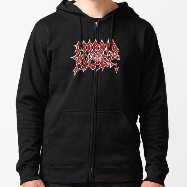 Morbid Angel Zipped Hoodie