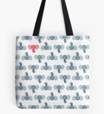 Animal Kingdom: Elephants Tote Bag
