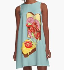 The accident A-Line Dress
