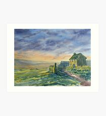 Evening on the High Fells Art Print