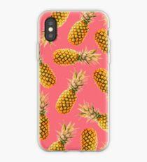 Vinilo o funda para iPhone Pink Tropical Pineapple