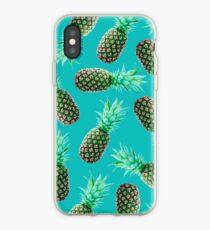 Vinilo o funda para iPhone Green Tropical Pineapple