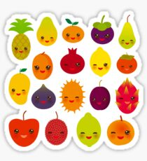 Happy Fruits Sticker
