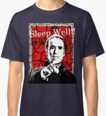 Dracula - Sleep Well!! Classic T-Shirt