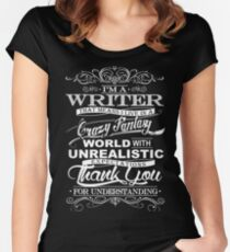I'M A WRITER  Women's Fitted Scoop T-Shirt