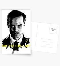 MISS ME? Postcards