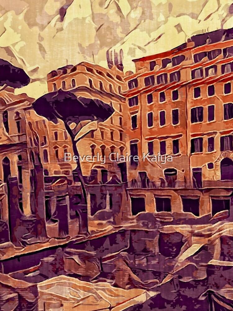 Campus Martius Julius Caesar Ancient Rome Italy Architecture by beverlyclaire