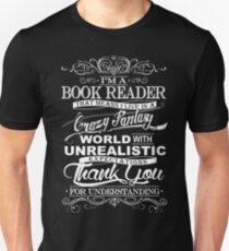 I'M A BOOK READER  T-Shirt