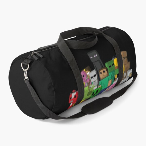 Minecraft Characters Crew | Cool Minecraft Design Duffle Bag