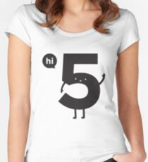 Hi 5 Women's Fitted Scoop T-Shirt