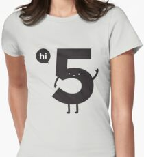 Hi 5 Women's Fitted T-Shirt
