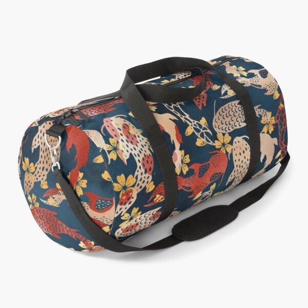 Kyoto koi fish pattern Duffle Bag