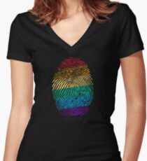 Identity Women's Fitted V-Neck T-Shirt