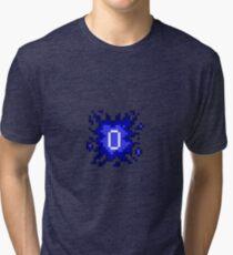 Old School RuneScape - 0HP Damage Splash Tri-blend T-Shirt