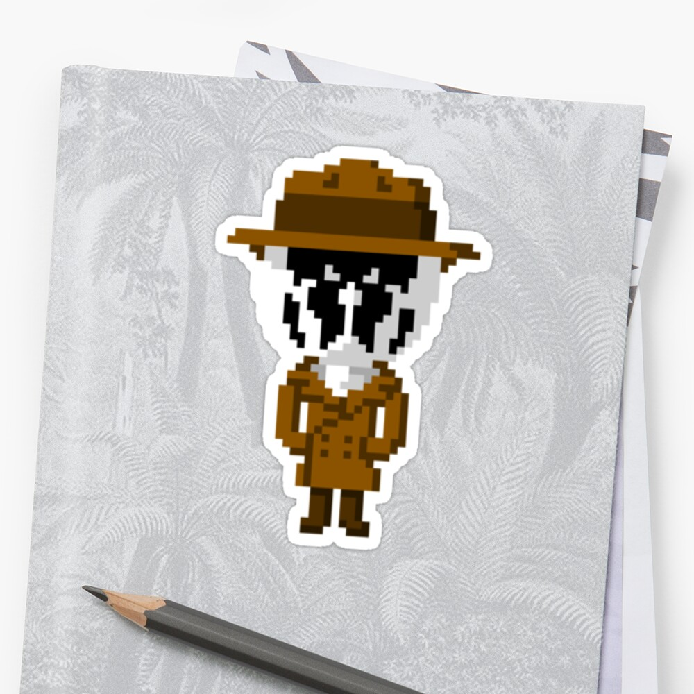 Rorschach Pixels by andersonOllie