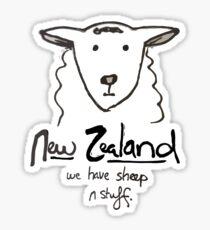 We have sheep n stuff Sticker