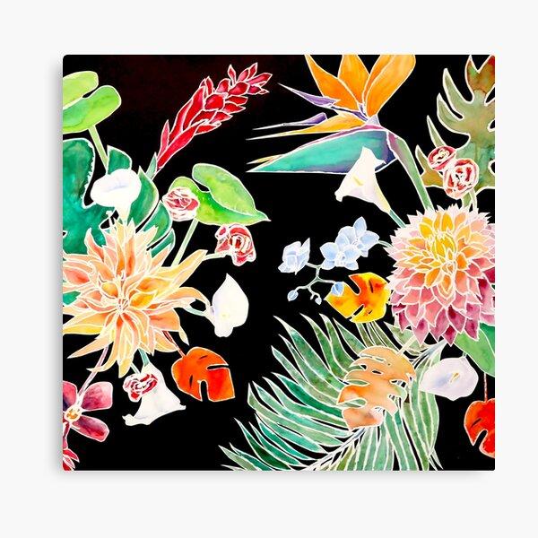 Wonderful Flowers by Julianna Gallardo, Tran Nguyen and Lawrence Yun Canvas Print
