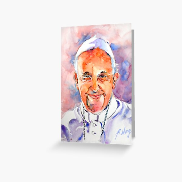 Holy Father #1 Greeting Card