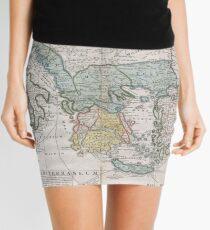 Minifalda Mapa vintage de Grecia (1741)