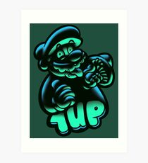 1UP Art Print