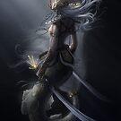 warrior mermaid by Elisa Serio