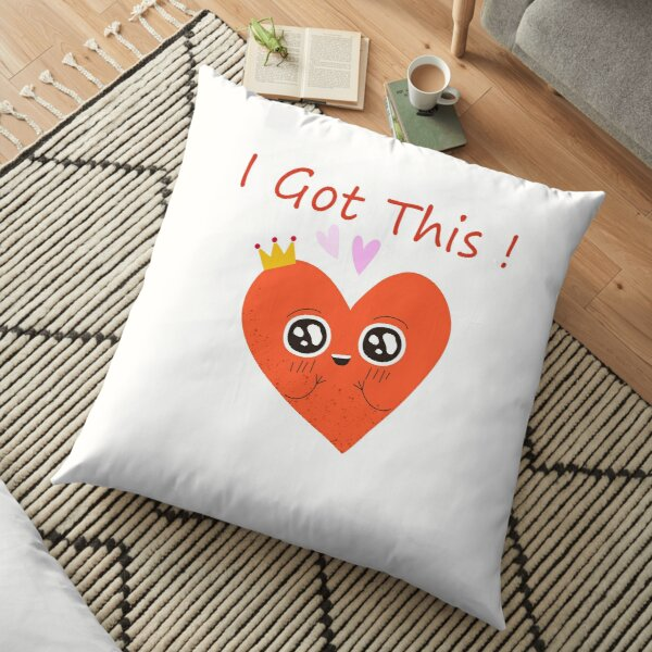Find your passion Floor Pillow
