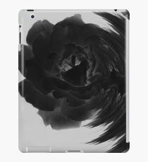 Destruction Black and White iPad Case/Skin