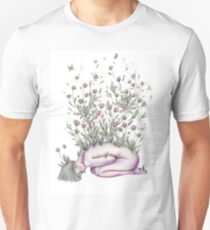 """""""From my rotting body, flowers shall grow and I am in them and that is eternity."""" Unisex T-Shirt"""
