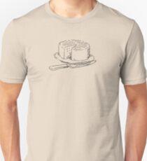 Chef Cake t-shirt - James Newton Cookbooks Unisex T-Shirt