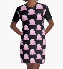 Ditto Graphic T-Shirt Dress