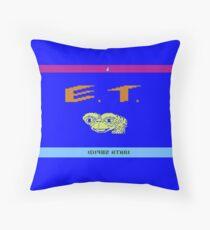 E.T - Atari 2600 Throw Pillow