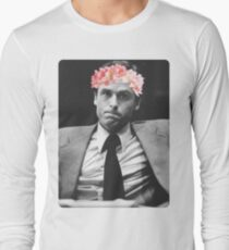 Flower crown Ted Bundy Long Sleeve T-Shirt