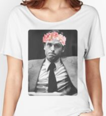 Flower crown Ted Bundy Women's Relaxed Fit T-Shirt