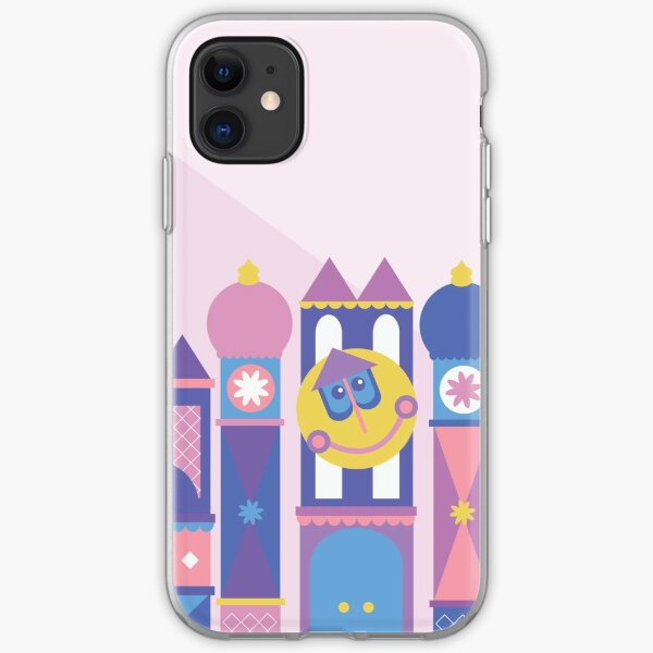 It's a small world after all iPhone Soft Case