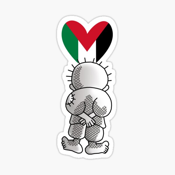 Hanzala, Handala, Handhala, Palestine libre Sticker
