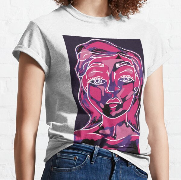 Woman Artistic Portfolio Classic T-Shirt