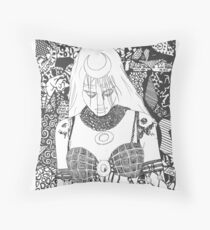 June Moone, Enchantress Throw Pillow