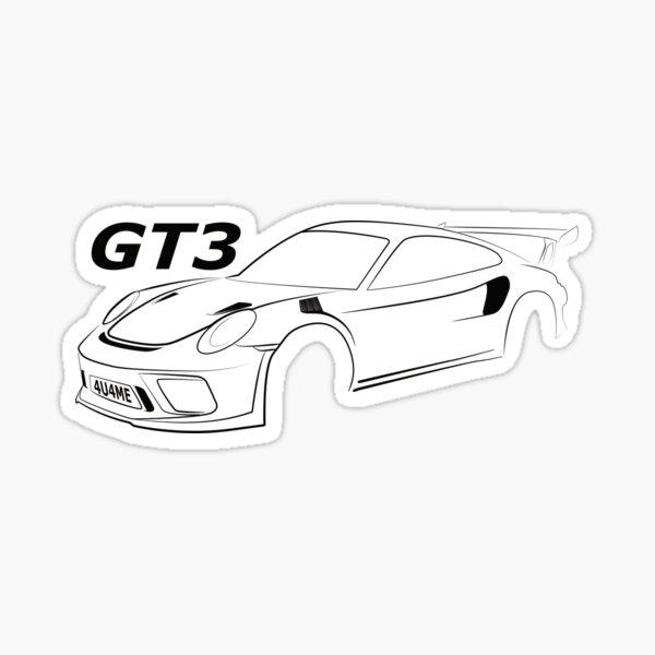 GT3 T-Shirt Sticker