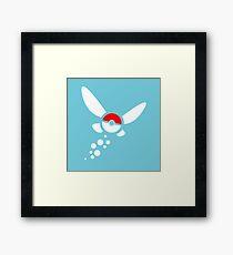 PokeNavi, Zelda/Pokemon Framed Print