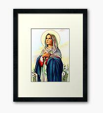 Mary Love Framed Print
