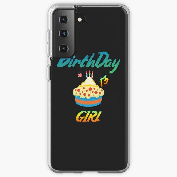 Birthday Girl 13 Samsung Galaxy Soft Case