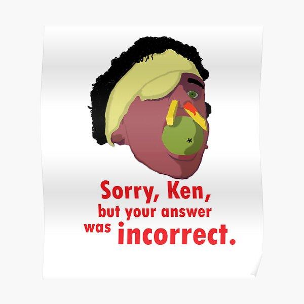 A Fish Called Wanda - Sorry, Ken Poster