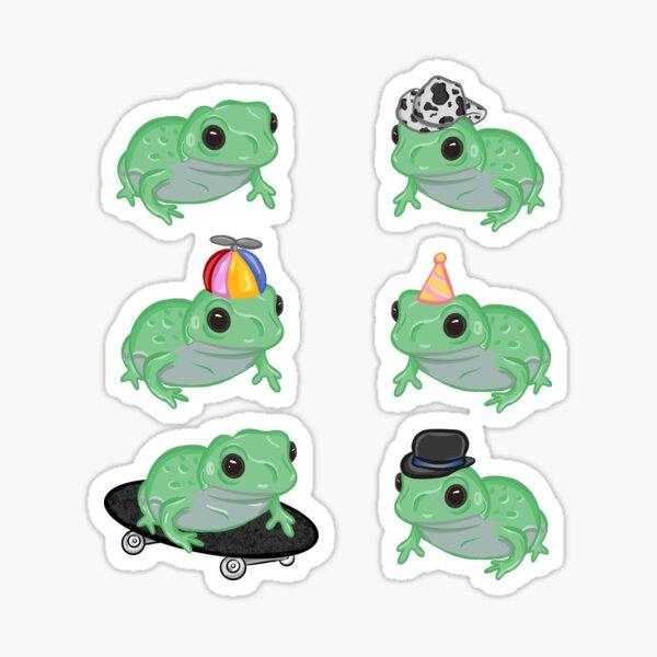 Frog Lover Sticker Pack Sticker