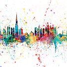 Dubai Skyline by Michael Tompsett