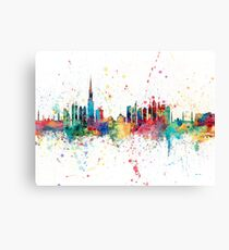 Dubai Skyline Canvas Print