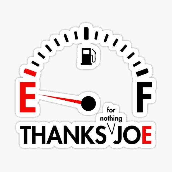 Thanks Joe for Nothing | Funny Biden Gas Prices Sticker