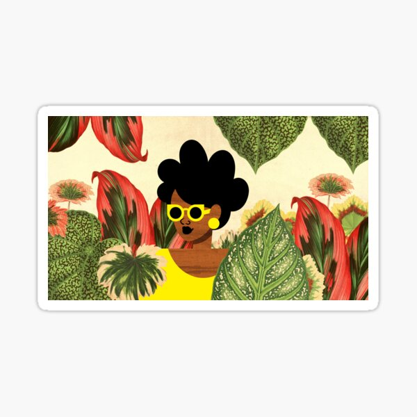 Bayou Girl II Sticker