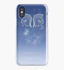 Gemini Zodiac constellation - Starry sky iPhone Case